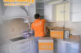 Перевозка посуды на дачу