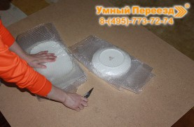 Перевозка кухонной утвари на дачу